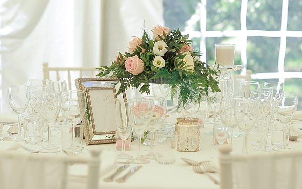 neutral and stylish wedding decor