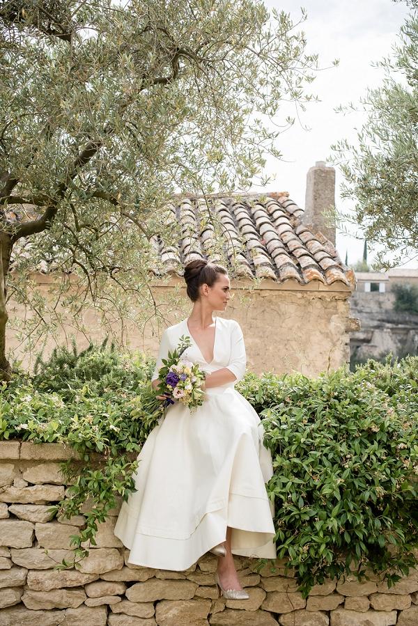 Stylish bridal style