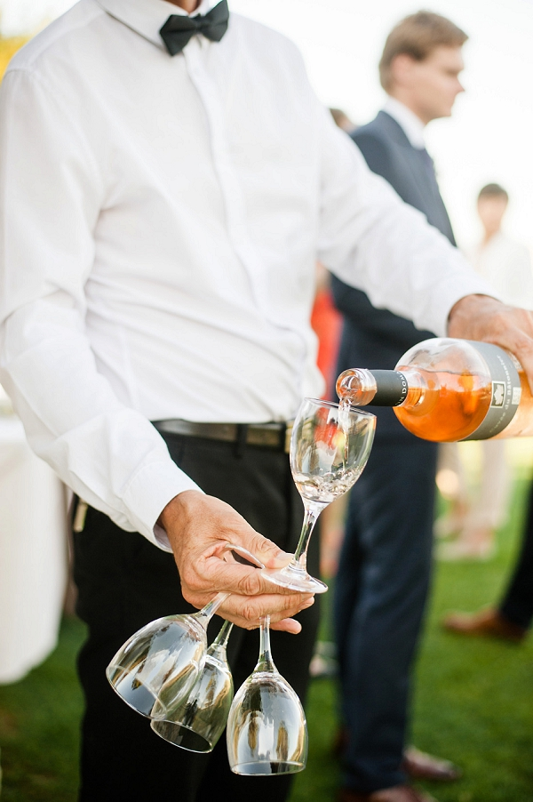 wedding day wine