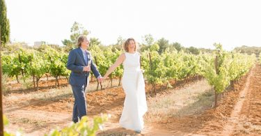 wedding vineyard photos
