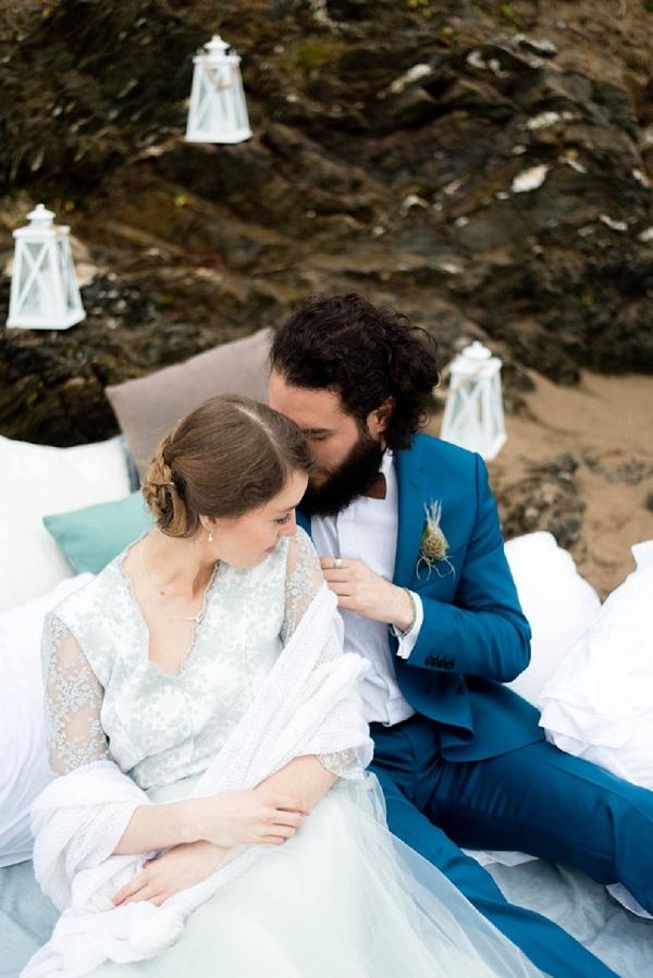 Beachside wedding inspiration