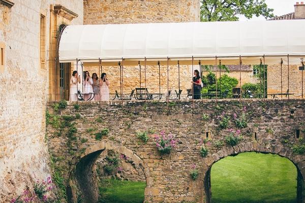 Beaujolais outdoor wedding
