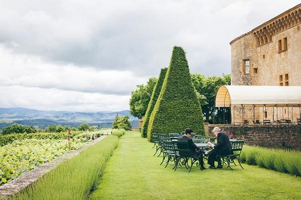 Beaujolais vineyard wedding