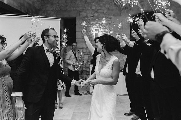 Bride & groom entrance ideas