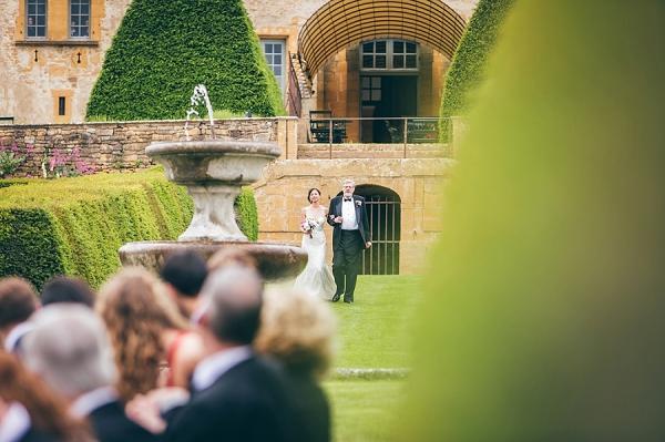 Château de Bagnols Real Wedding