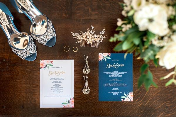 Chateau de Lisse bridal details | Image by Elena Joland