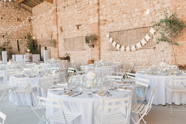 Domaine de Sarson wedding reception