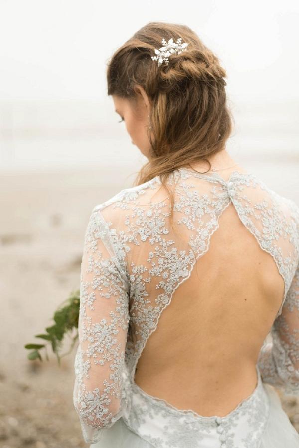 Fabryka backless wedding dress