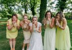 Fun bridal party portraits