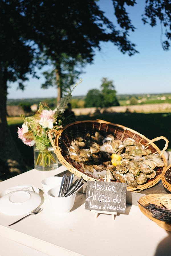 Huymblot wedding catering Bordeaux