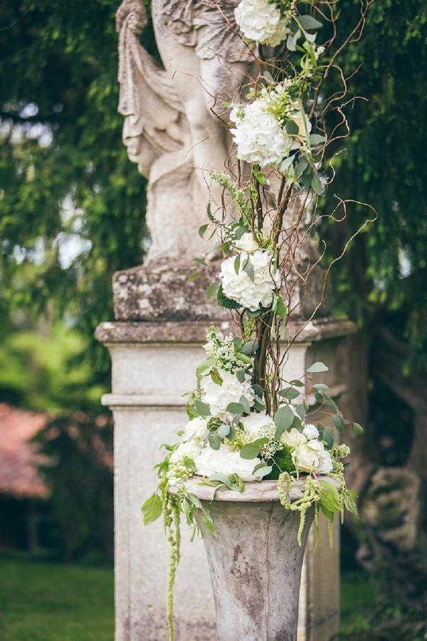 Hydrangea wedding decoration ideas