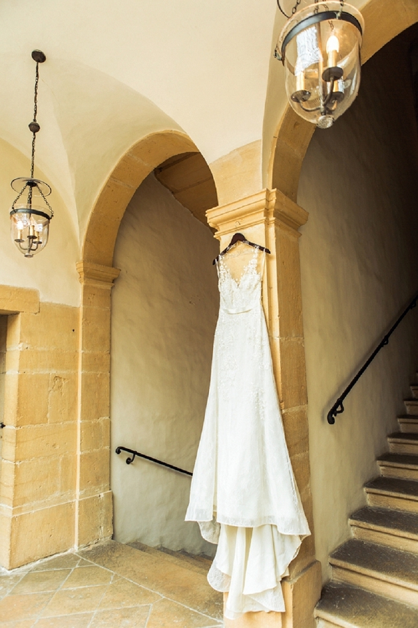 Liancarlo Italian lace wedding dress