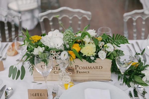 Lyon wedding florist