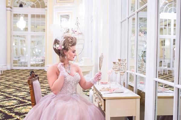 Marie Antoinette bride
