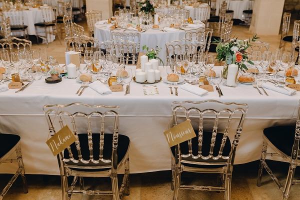 Mr & Mrs wedding chair ideas