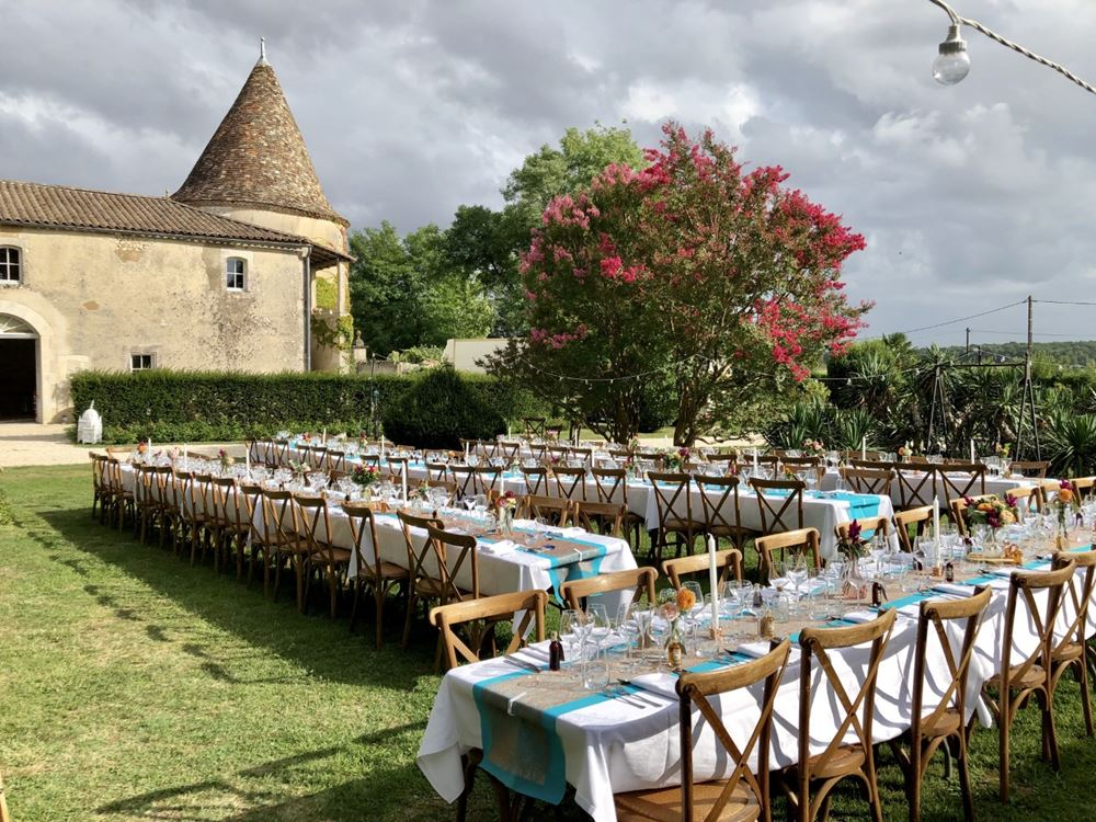 Oui Ici Wedding Hire in the West of France