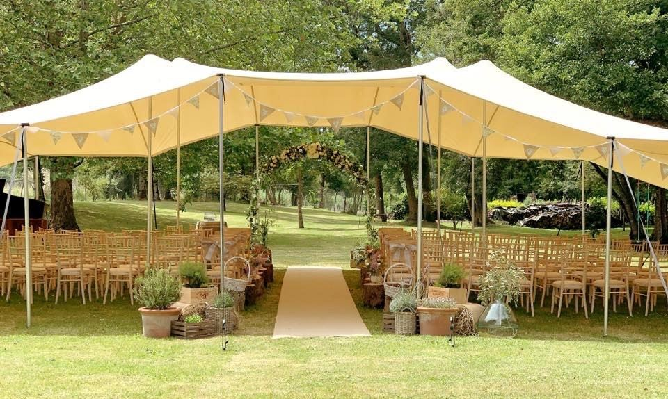 Oui Ici Wedding Marquee Hire in France