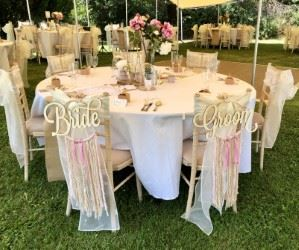 Oui Ici Wedding Table Hire in France