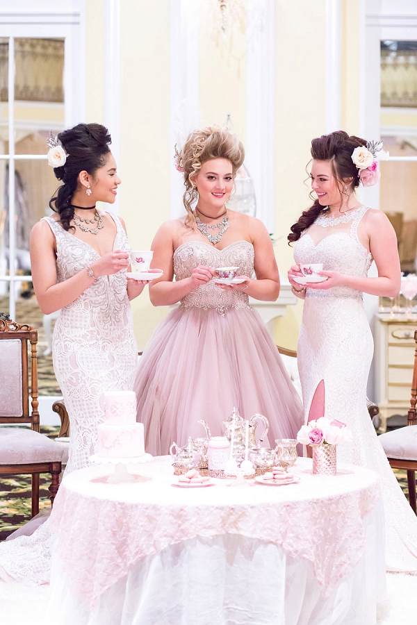 Pink inspired wedding tea party