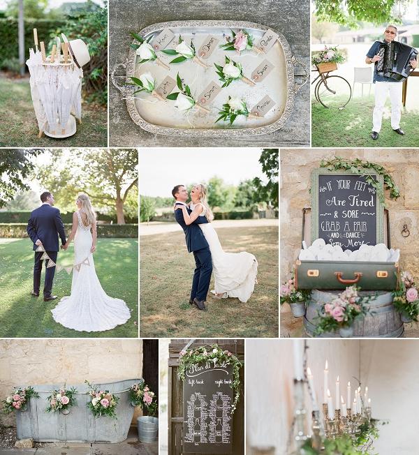 Pinterest Worthy Wedding at Chateau Rigaud Snapshot