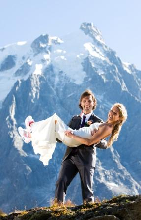 REAL LIFE WEDDING CHAMONIX FRANCE