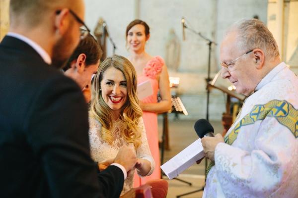 Saint Emilion wedding ceremony