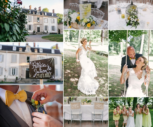 Summer Spirit Inspired Château de la Bourdelière Wedding Snapshot