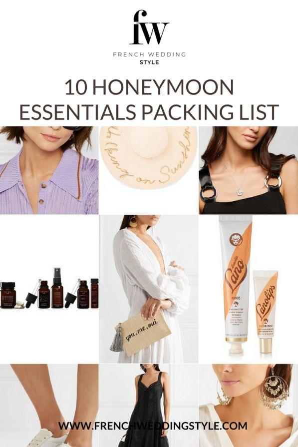 Top 10 Honeymoon Essentials Packing List