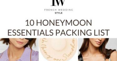 Top 10 Honeymoon essentials packing list top