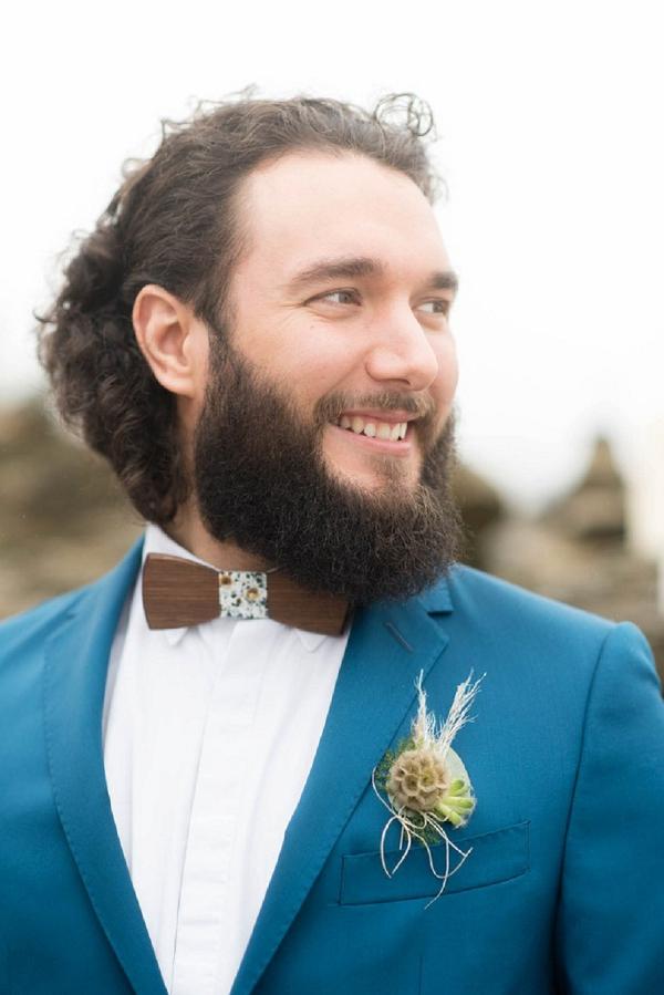 Unique grooms bow tie