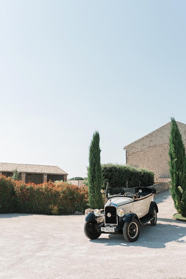 Vintage car Provence