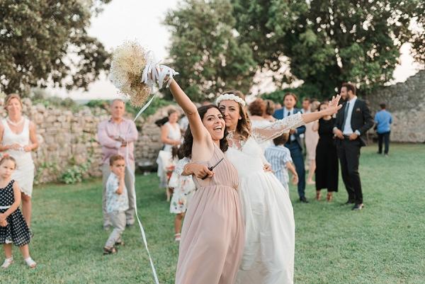 Wedding ribbon tradition