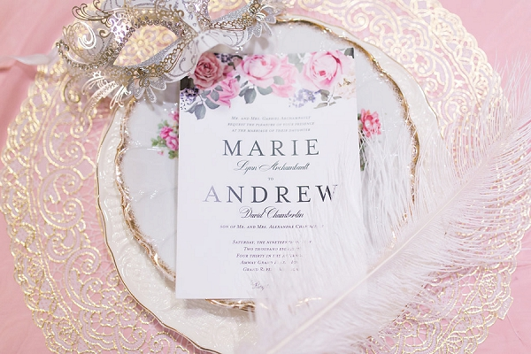 marie antoinette place setting