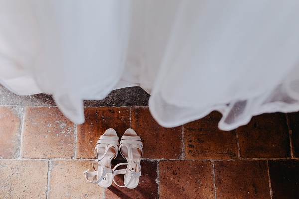 relaxed bridal details