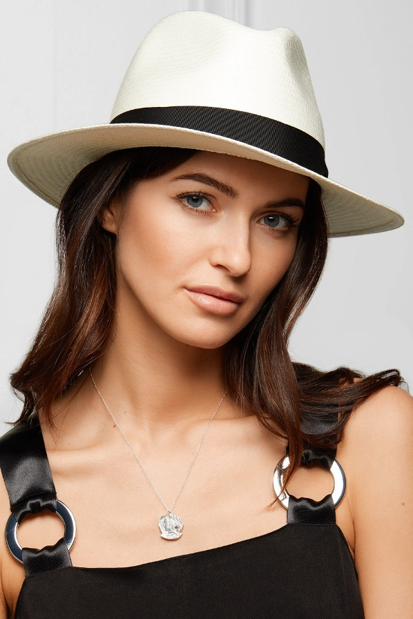 white panama hat honeymoon
