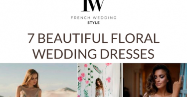 7 Floral Wedding Dresses short