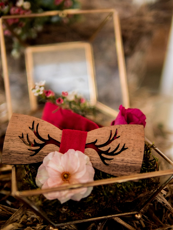 Bewood wedding bow tie