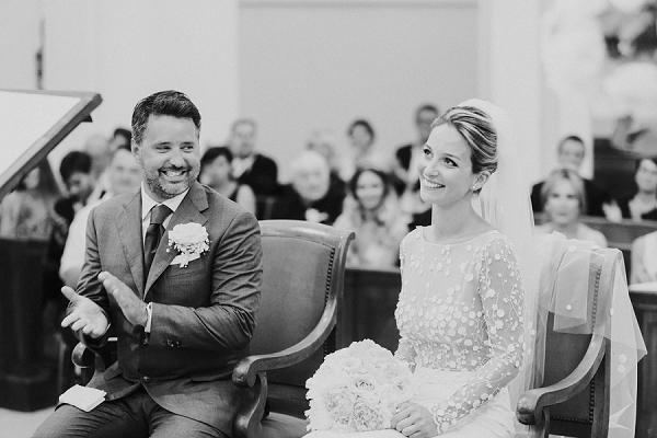 Cannes church wedding