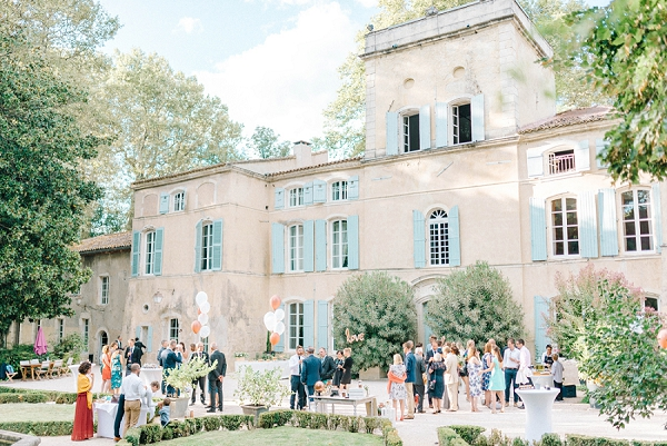 Chateau Des Barrenques real wedding
