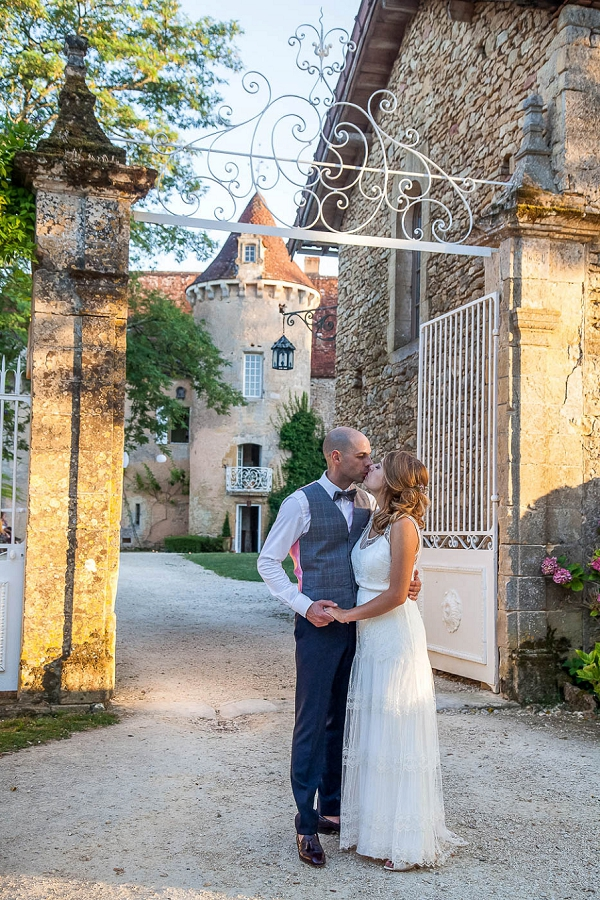 Chateau wedding portraits