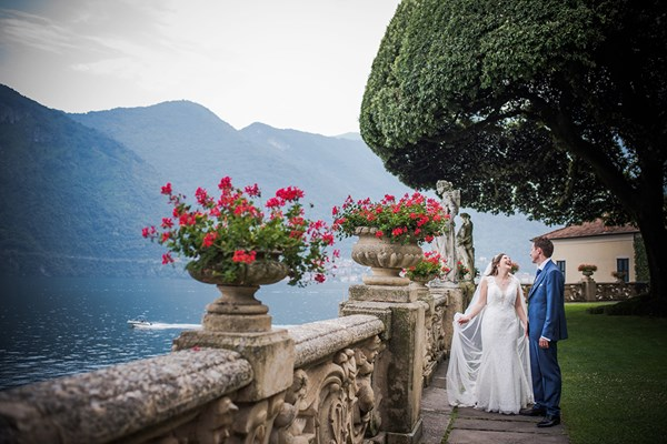 Lake Como Destination Wedding Photography by Catherine Bradley Photography