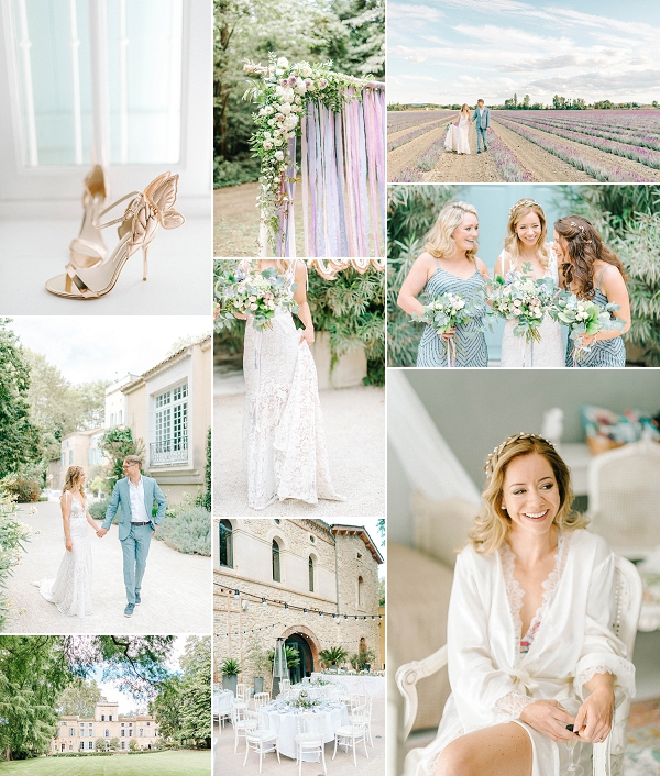 Dreamy Chateau Des Barrenques Wedding Snapshot