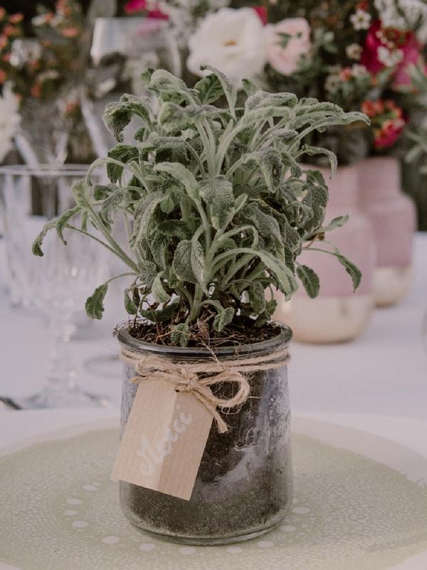 Eco wedding favour