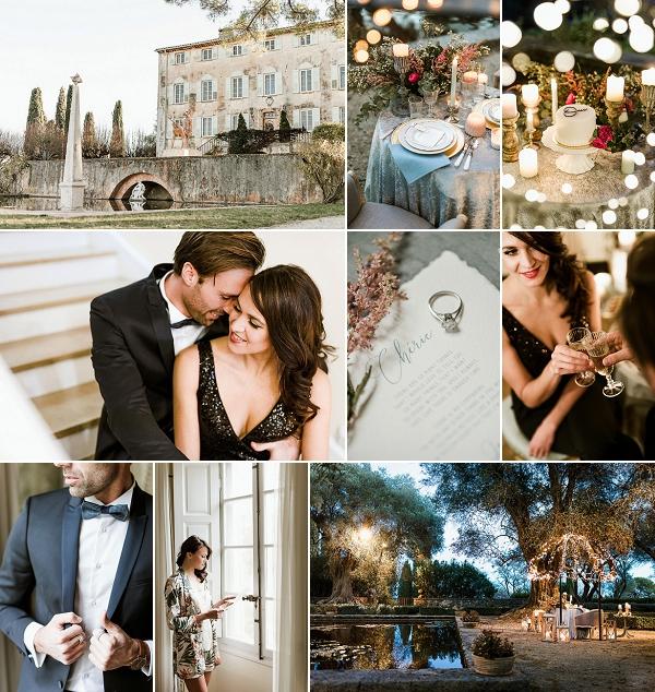 Elegant and Chic French Wedding Proposal Snapshot