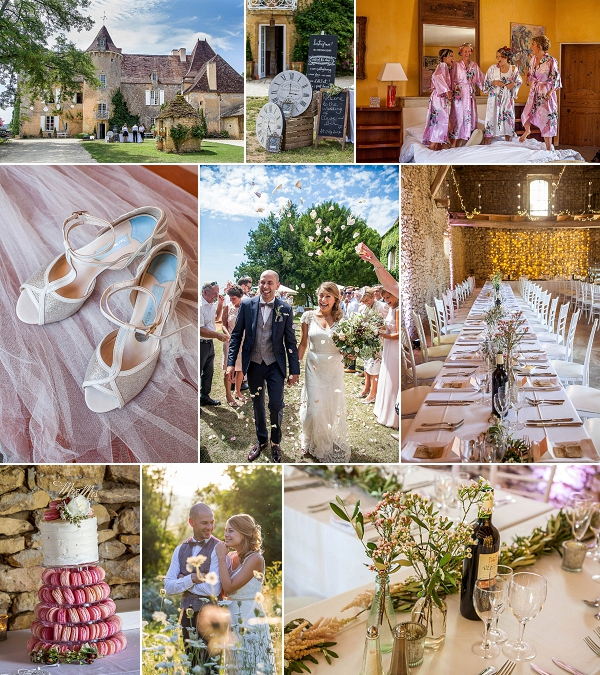 Fairytale Chateau Wedding in Dordogne Snapshot