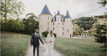 French Fairytale Wedding Venue Chateau Saint Martory