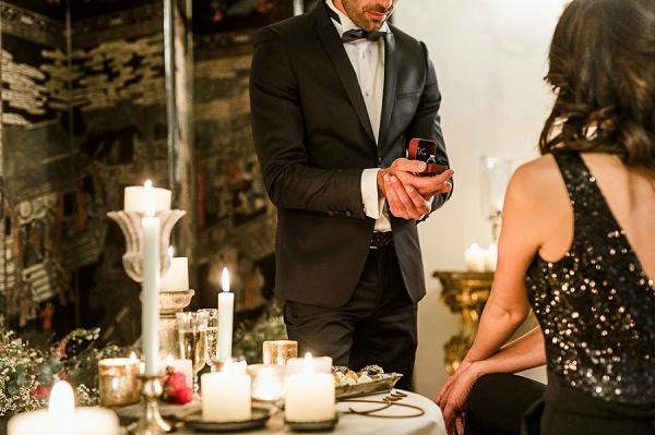 French Wedding Proposal