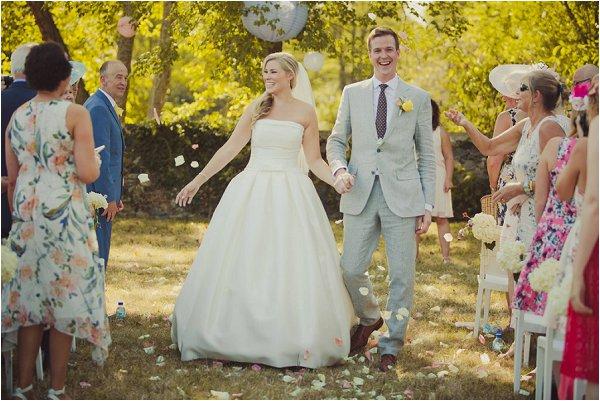 French fairytale wedding