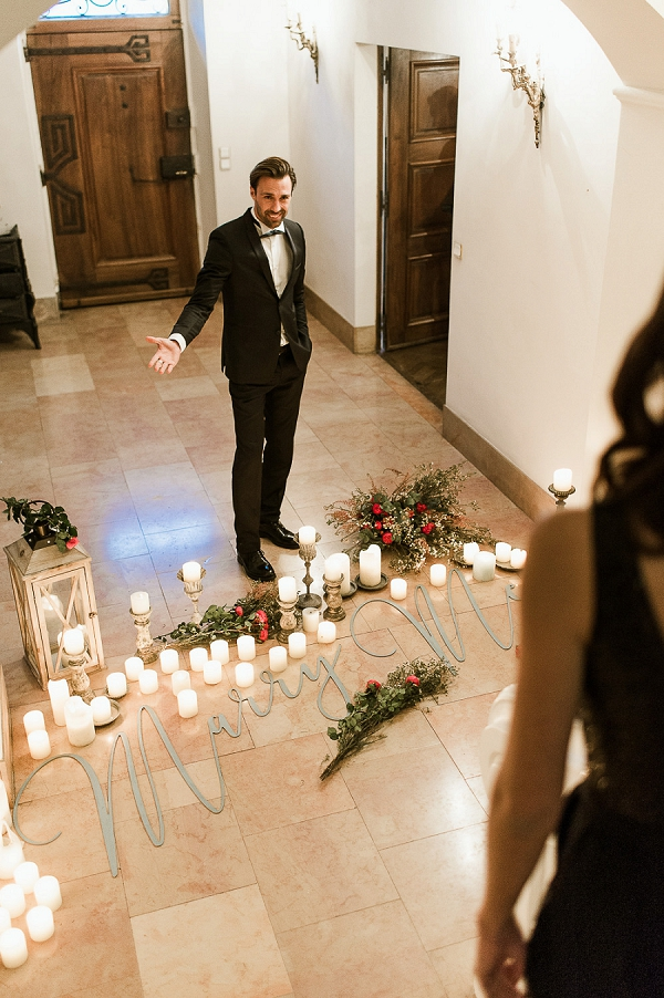 French wedding proposal ideas