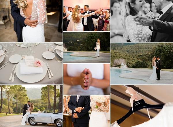 Glamorous Domaine des Oliviers de l'Esterel Wedding Snapshot